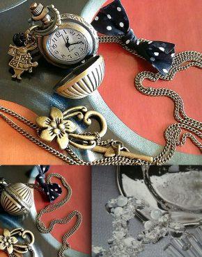 zazatralala, zazatralala bijoux, bijoux créateur, France, Blois, montre, bijou rétro